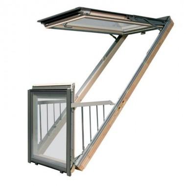 Окно-балкон FAKRO FGH-V P2 GALERIA FAKRO