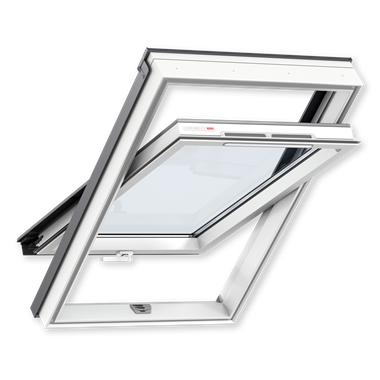 Мансардное окно VELUX GLP 0073BIS Белый пластик 55x78 VELUX